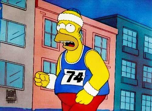 Homer-Simpson-Running