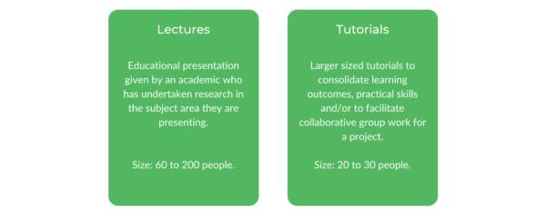 Macquarie University Economics - Class Structure