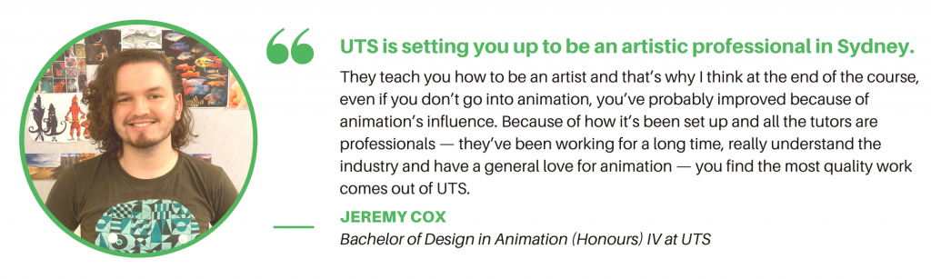 UTS Animation - Student Quote