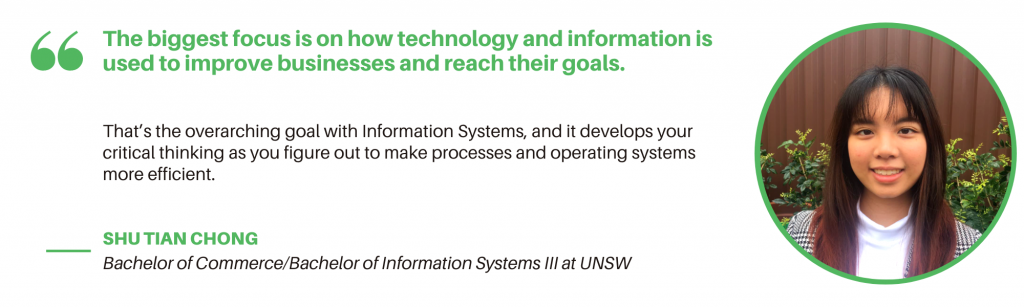 UNSW Information Systems - Student Quote 2