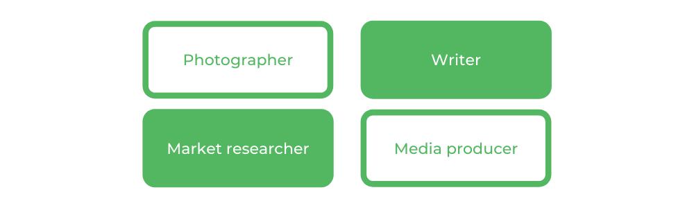 Bachelor of Creative Industries WSU - Careers