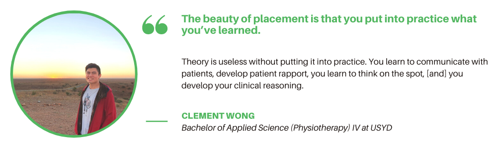 USYD Physiotherapy - Student Quote