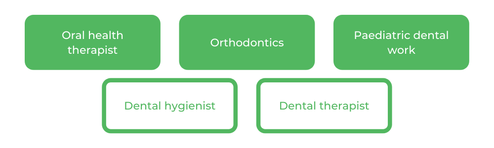 Bachelor of Oral Health - Careers