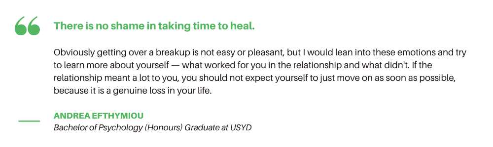 How to Get Over a Breakup - Quote