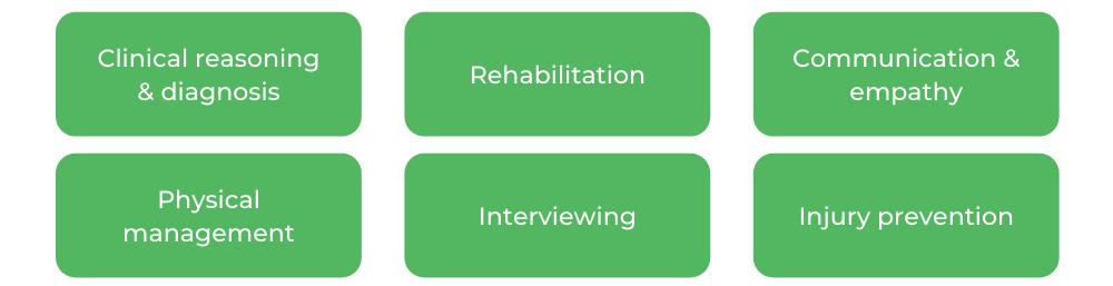 UQ Physiotherapy - Skills