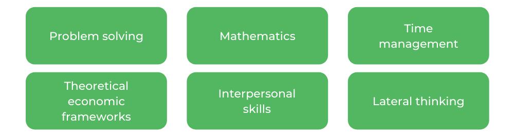 Monash Economics - Skills