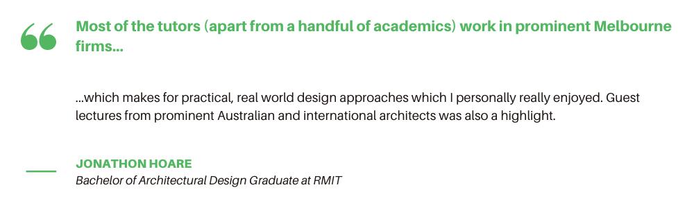 RMIT Architecture - Quote